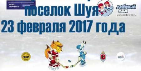 Embedded thumbnail for Ролик об однодневном хоккейном фестивале «Люблю папу, маму и хоккей» в п. Шуя