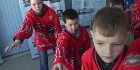 Embedded thumbnail for Музей хоккея на открытии второго «Кубка Добрый лёд»