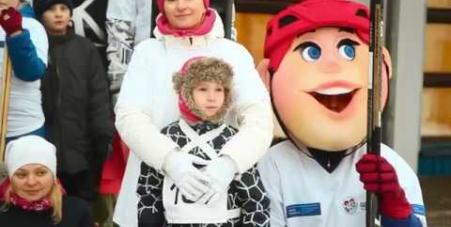 Embedded thumbnail for Ролик о серии семейных хоккейных фестивалей «Люблю папу, маму и хоккей»