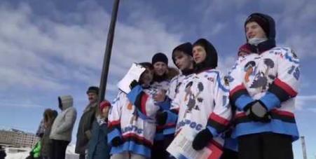 Embedded thumbnail for Семейный хоккейный фестиваль в Полярном