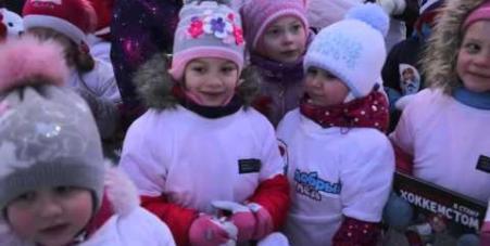 Embedded thumbnail for Новогодний детский праздник 2015, пос. Спутник